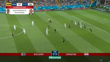 Full match: Iceland vs Croatia