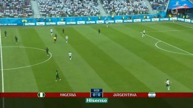 Full match: Nigeria vs Argentina