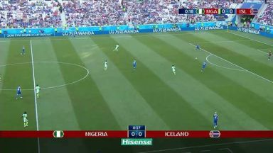 Full match: Nigeria vs Iceland