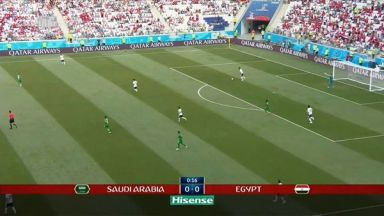 Full match: Saudi Arabia vs Egypt