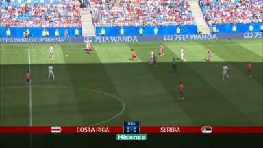 Full match: Costa Rica vs Serbia