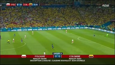 Full match: Poland vs Colombia