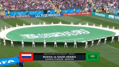 Full match: Russia vs Saudi Arabia