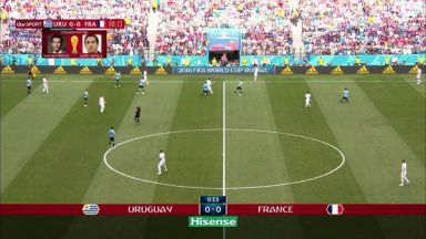 Full match: Uruguay vs France