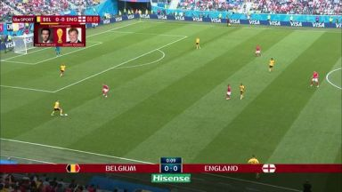 Full match: Belgium vs England