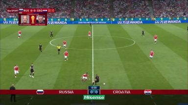 Full match: Russia vs Croatia