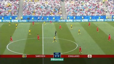 Full match: Sweden vs England