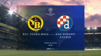 Full match: Young Boys vs Dinamo Zagreb