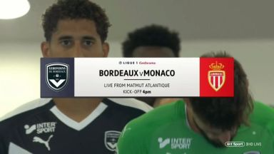 Full match: Bordeaux vs Monaco