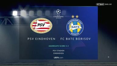 Full match: PSV vs BATE