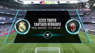 Full match: Real Madrid vs AC Milan