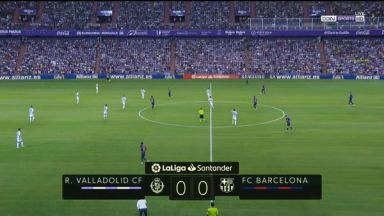 Full match: Real Valladolid vs Barcelona