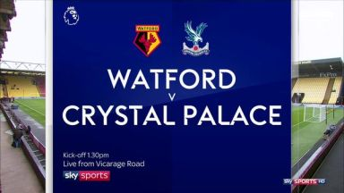 Full match: Watford vs Crystal Palace