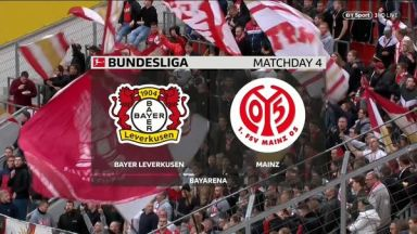 Full match: Bayer Leverkusen vs Mainz 05