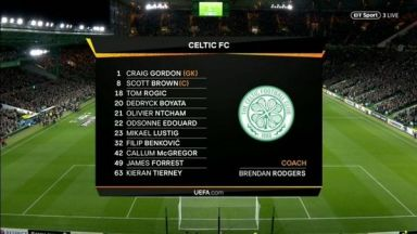 Full match: Celtic vs Rosenborg