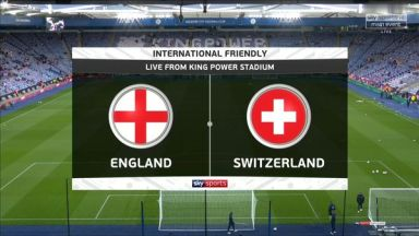 Full match: England vs Switzerland
