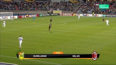 Full match: F91 Dudelange vs AC Milan