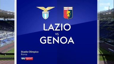 Full match: Lazio vs Genoa