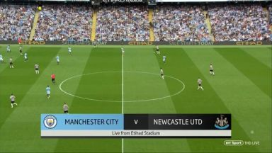 Full match: Manchester City vs Newcastle United