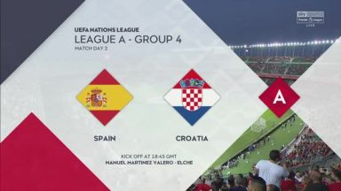 Full match: Spain vs Croatia