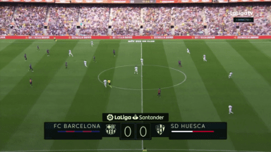 Full match: Barcelona vs Huesca