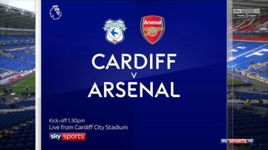 Full match: Cardiff City vs Arsenal