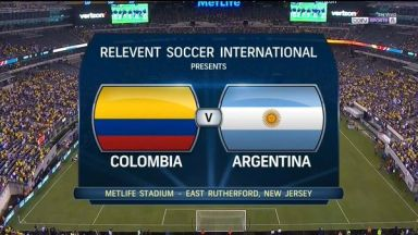 Full match: Colombia vs Argentina