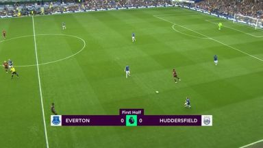 Full match: Everton vs Huddersfield Town