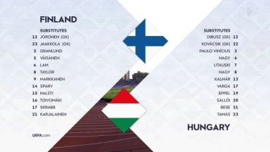 Full match: Finland vs Hungary