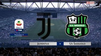 Full match: Juventus vs Sassuolo