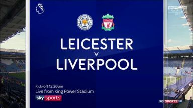 Full match: Leicester City vs Liverpool