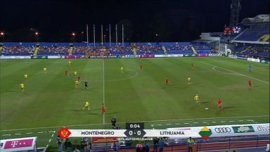 Full match: Montenegro vs LithuaniaFull match: Montenegro vs Lithuania