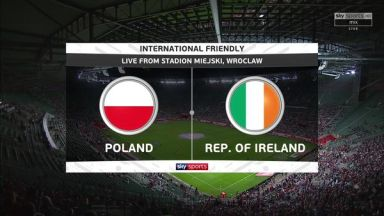 Full match: Poland vs Republic of Ireland