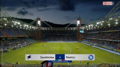 Full match: Sampdoria vs Napoli
