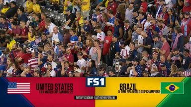 Full match: United States vs Brazil