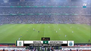 Full match: Argentina vs Brazil