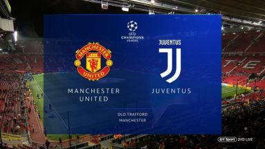 Full match: Manchester United vs Juventus