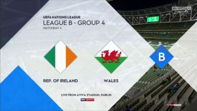 Full match: Republic of Ireland vs Wales