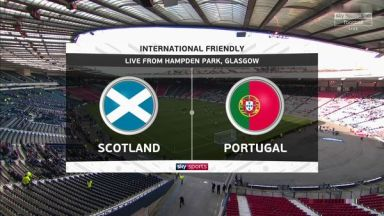 Full match: Scotland vs Portugal