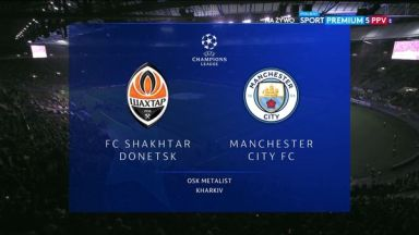 Full match: Shakhtar Donetsk vs Manchester City