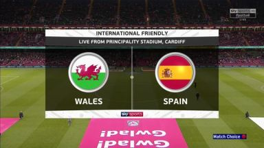Full match: Wales vs Spain