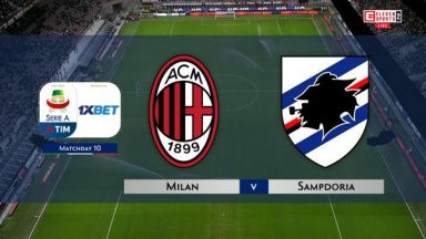 Full match: AC Milan vs Sampdoria