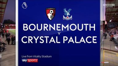 Full match: AFC Bournemouth vs Crystal Palace