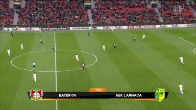 Full match: Bayer Leverkusen vs AEK Larnaca