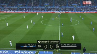 Full match: Deportivo Alaves vs Real Madrid