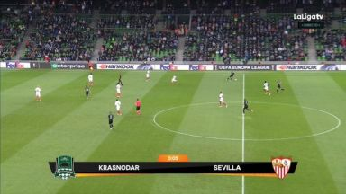 Full match: Krasnodar vs Sevilla
