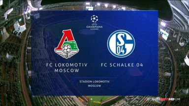Full match: Lokomotiv Moskva vs Schalke 04