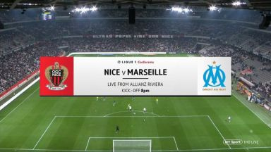 Full match: Nice vs Olympique Marseille