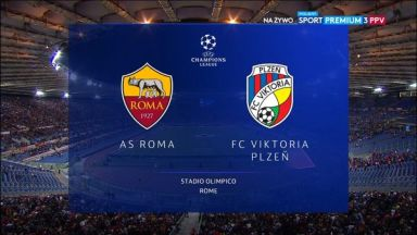 Full match: Roma vs Viktoria Plzen