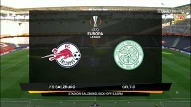 Full match: Salzburg vs Celtic
